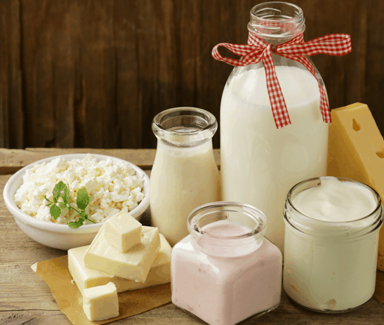 Sales of Dairy Products